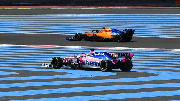 Sergio Perez - GP Frankreich 2019