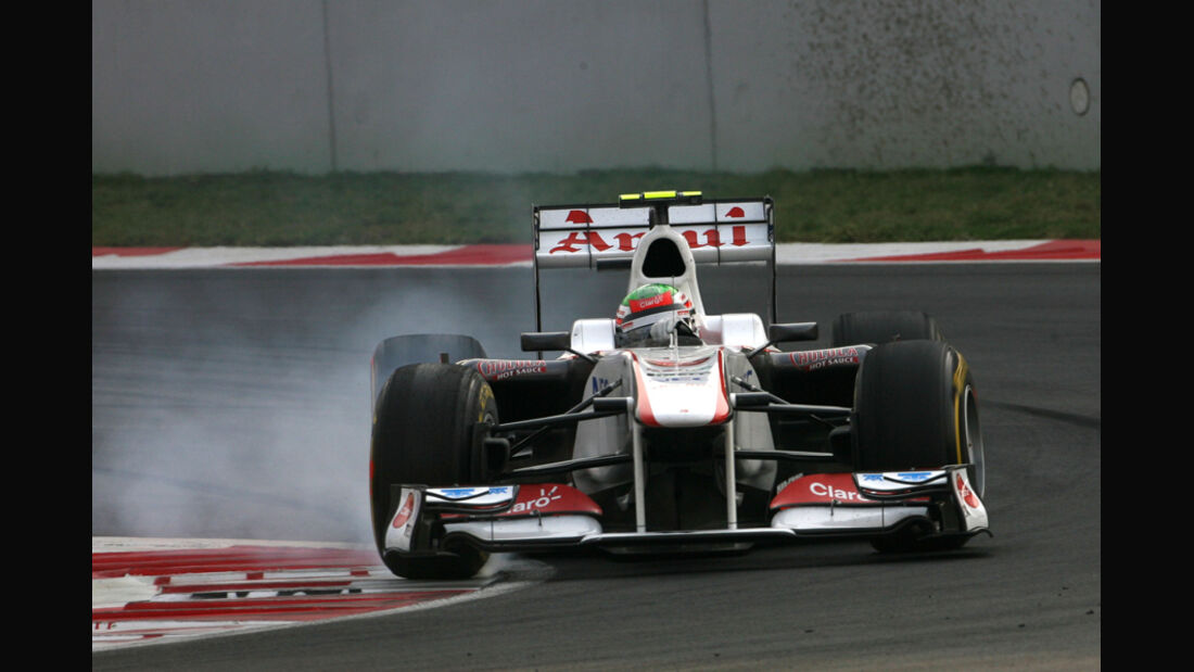Sergio Perez GP Indien 2011