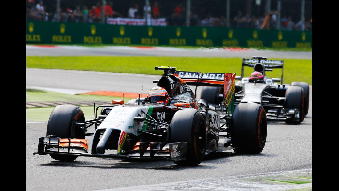 Sergio Perez - GP Italien 2014