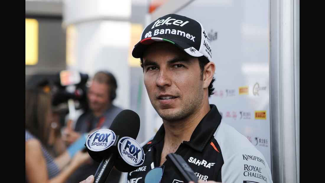 Sergio Perez - GP Italien 2016