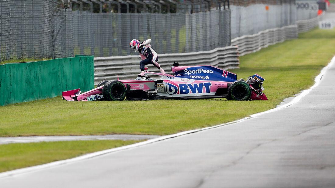 Sergio Perez - GP Italien 2019