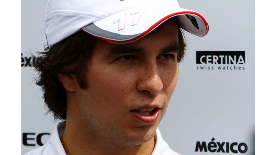 Sergio Perez - GP Italien - 8. September 2011