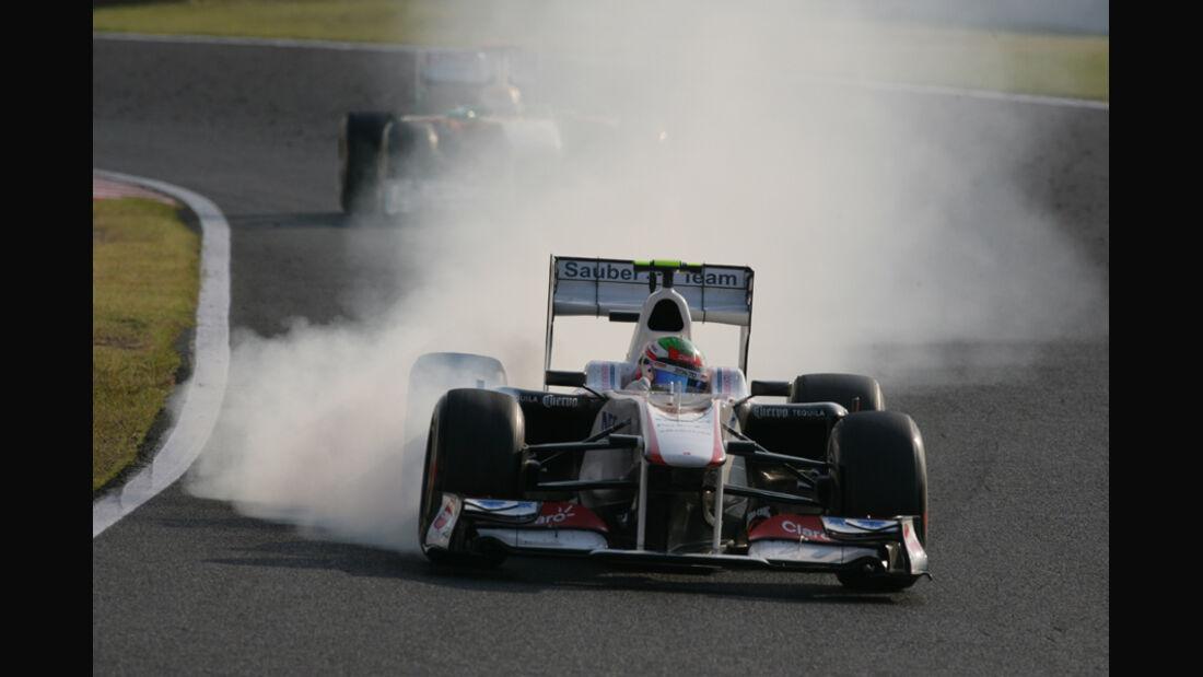 Sergio Perez GP Japan 2011
