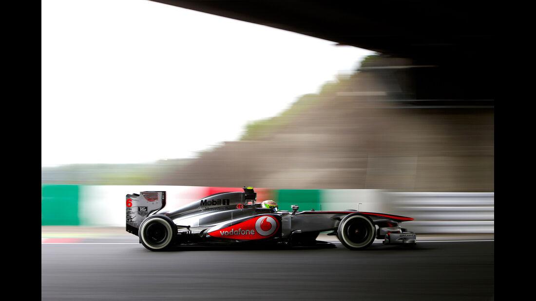 Sergio Perez - GP Japan 2013