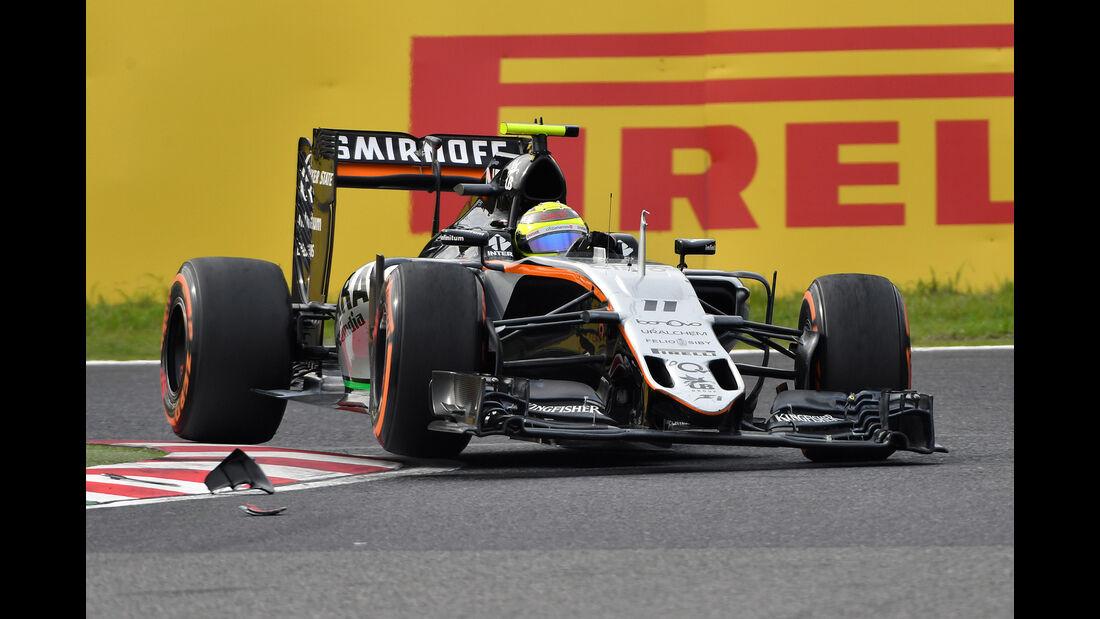 Sergio Perez - GP Japan 2016