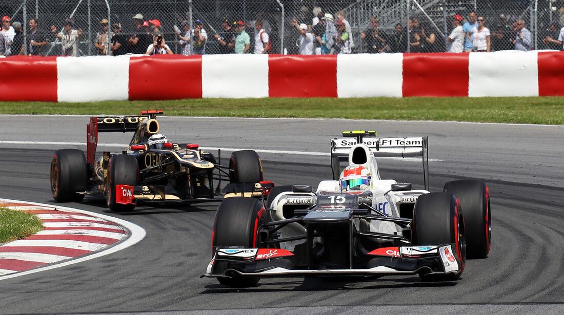 Sergio Perez GP Kanada 2012