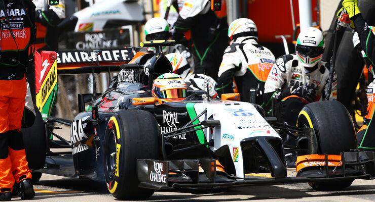 Sergio Perez - GP Kanada 2014