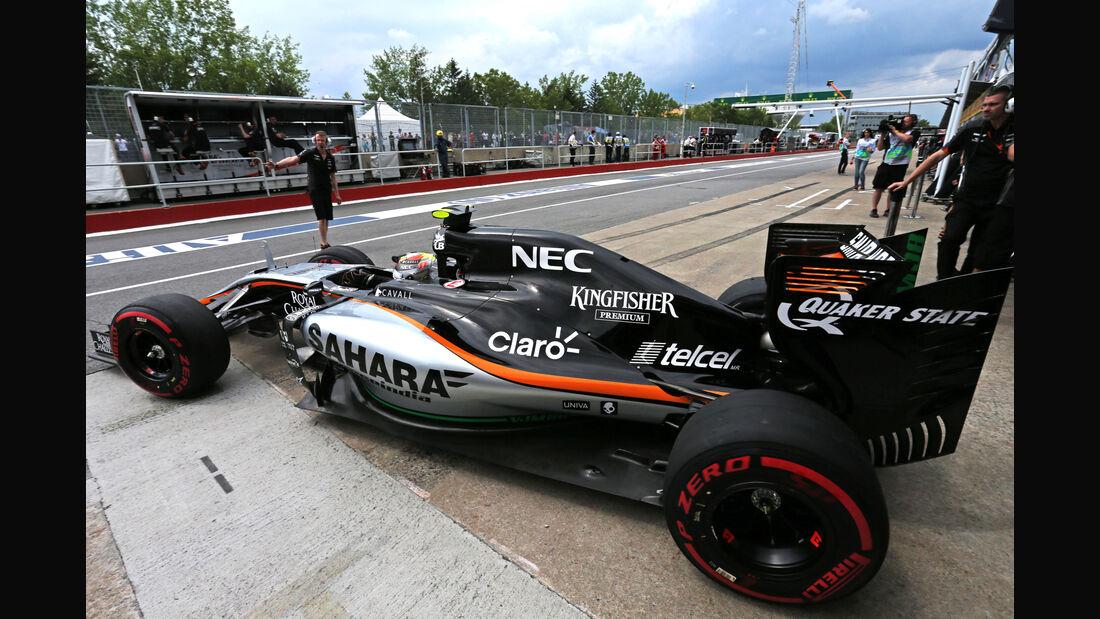 Sergio Perez - GP Kanada 2015