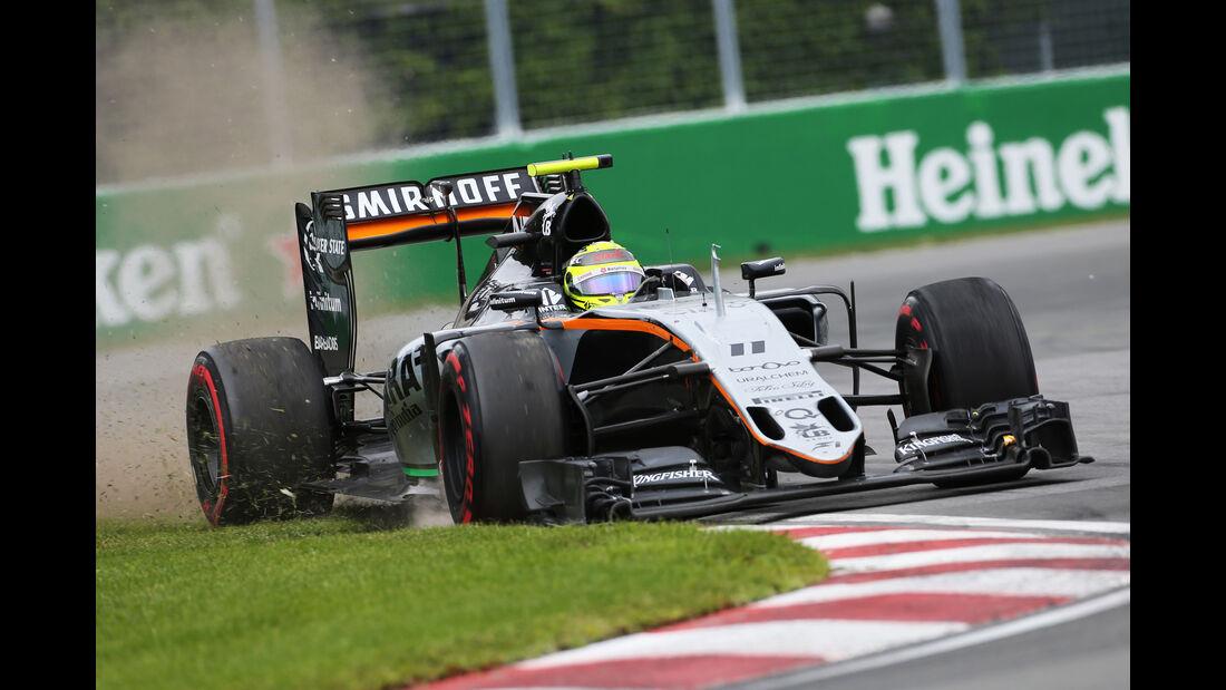 Sergio Perez - GP Kanada 2016