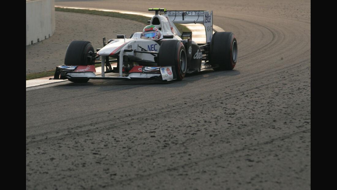 Sergio Perez GP Korea 2011
