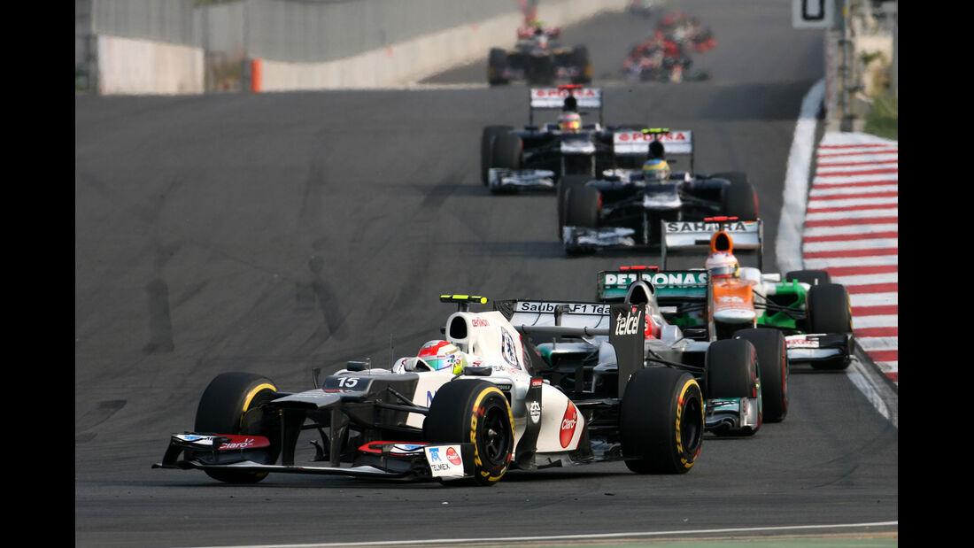 Sergio Perez GP Korea 2012