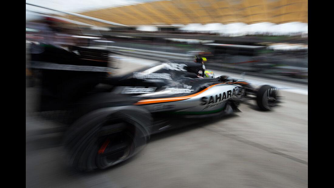 Sergio Perez - GP Malaysia 2015