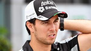 Sergio Perez - GP Malaysia 2016