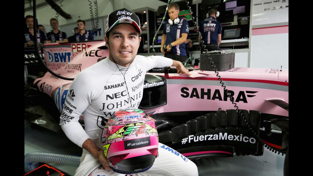 Sergio Perez - GP Malaysia 2017
