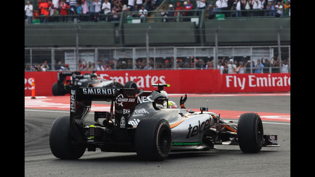 Sergio Perez - GP Mexiko 2015