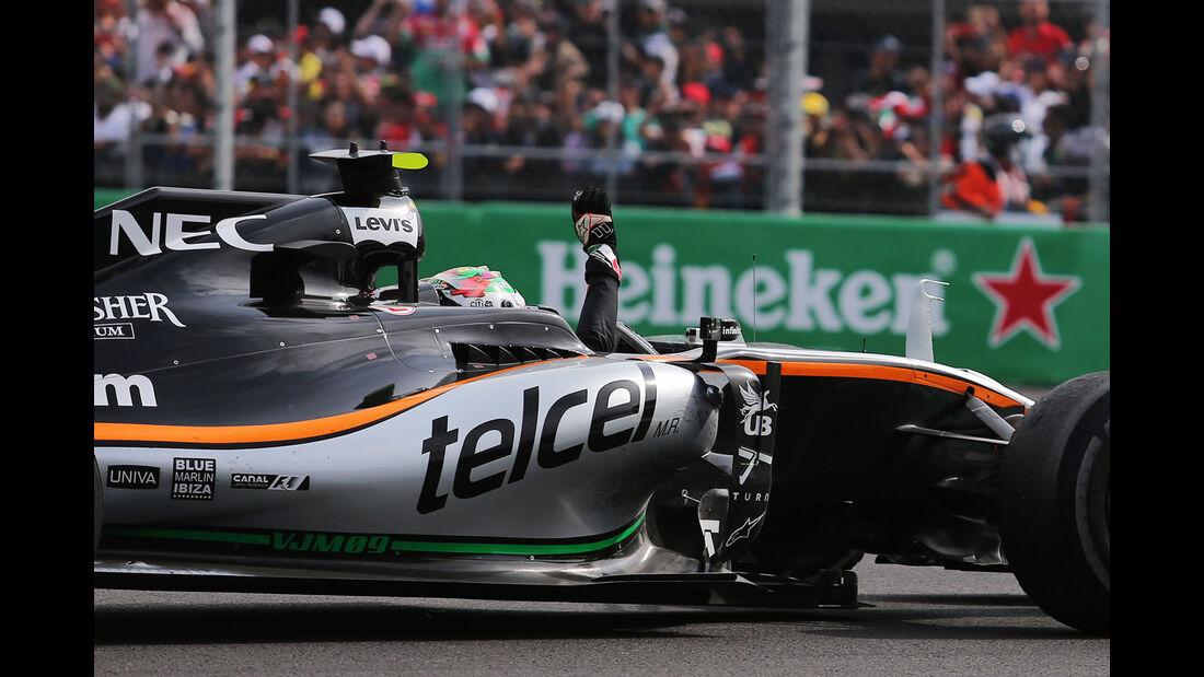 Sergio Perez - GP Mexiko 2016
