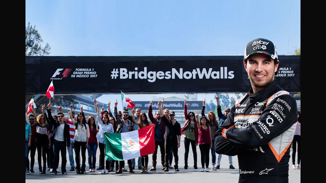Sergio Perez - GP Mexiko - 2017
