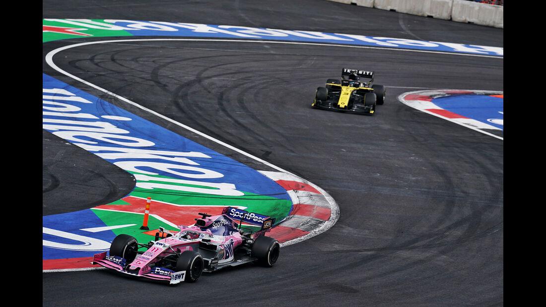 Sergio Perez - GP Mexiko 2019