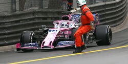 Sergio Perez - GP Monaco 2019