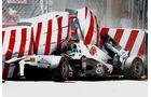 Sergio Perez GP Monaco Crashs 2011