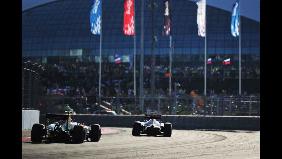 Sergio Perez - GP Russland 2014