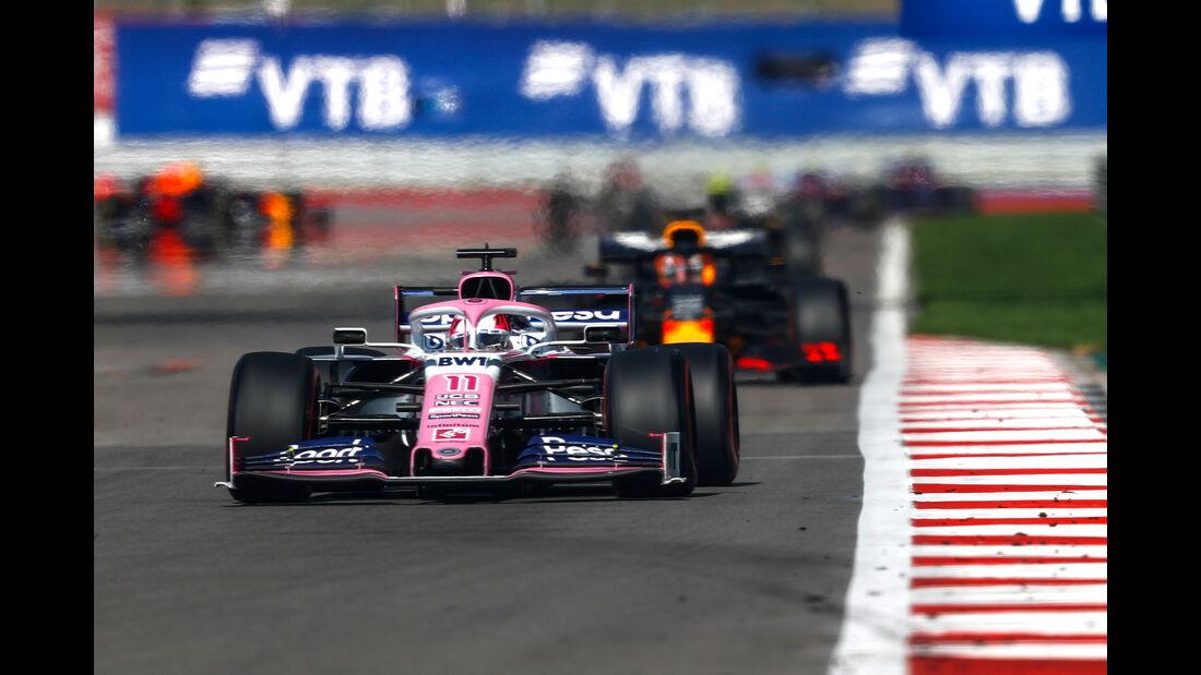 Sergio Perez - GP Russland 2019