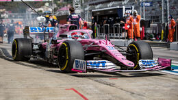 Sergio Perez - GP Russland 2020