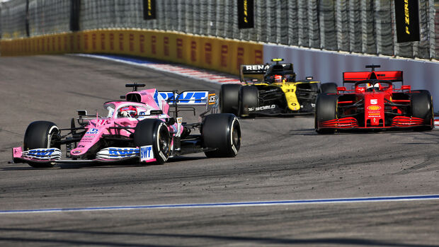 Sergio Perez - GP Russland - Sotschi - Formel 1 - 2020