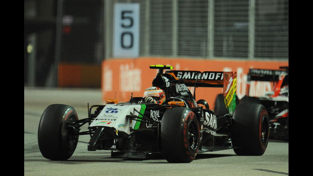 Sergio Perez - GP Singapur 2014