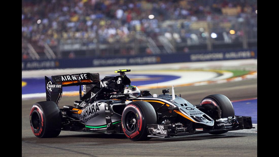 Sergio Perez - GP Singapur 2015