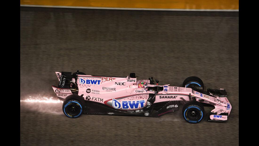 Sergio Perez - GP Singapur 2017
