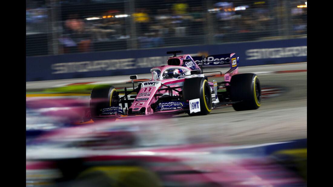 Sergio Perez - GP Singapur 2019