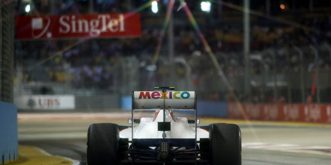 Sergio Perez - GP Singapur - 23. September 2011