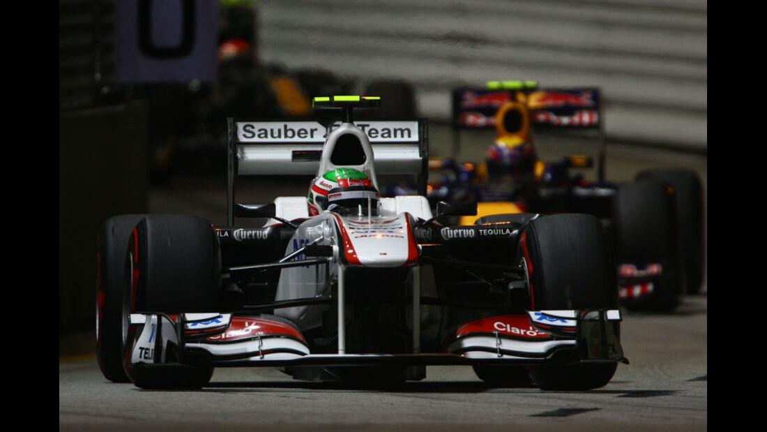 Sergio Perez - GP Singapur - 24. September 2011