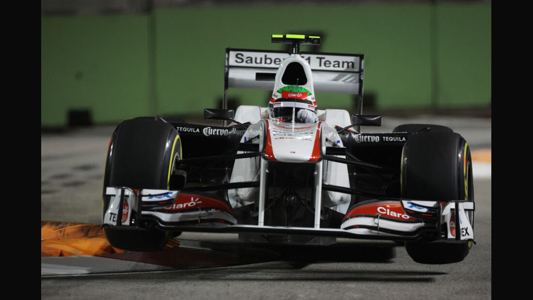 Sergio Perez - GP Singapur - 24. September 2011