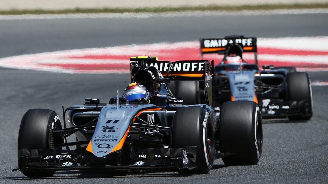 Sergio Perez - GP Spanien 2015