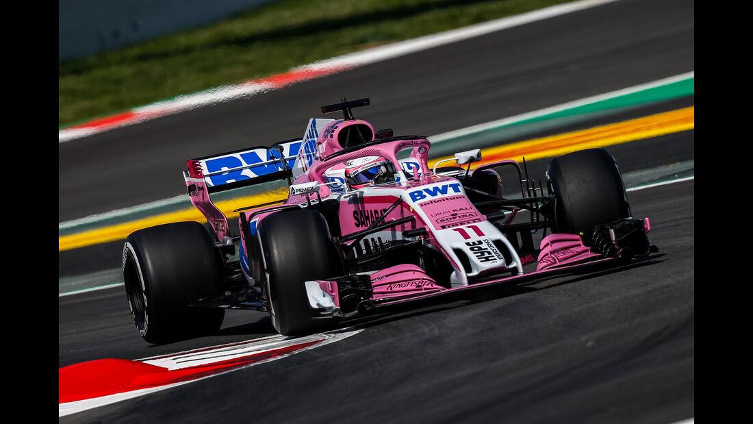 Sergio Perez - GP Spanien 2018