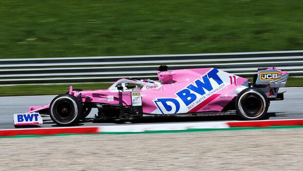 Sergio Perez - GP Steiermark - Österreich 2020