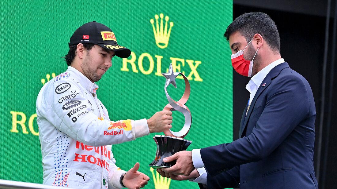 Sergio Perez - GP Türkei 2021