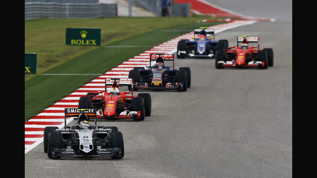 Sergio Perez - GP USA 2015