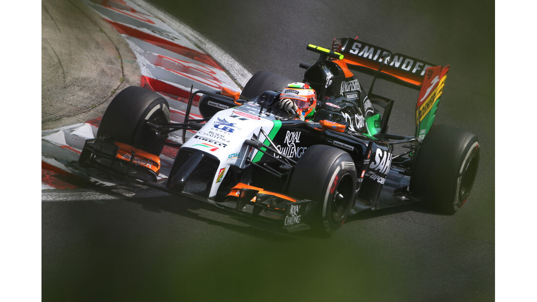 Sergio Perez - GP Ungarn 2014