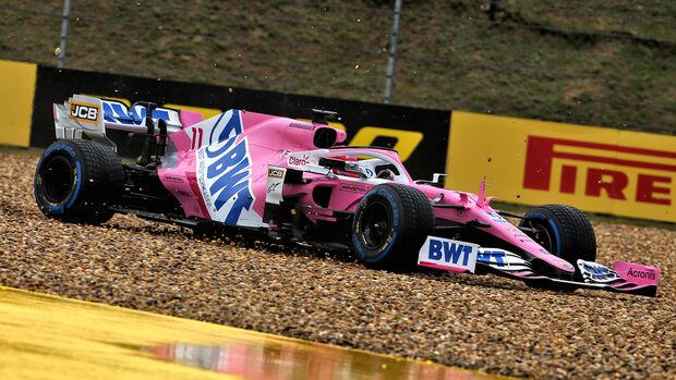 Sergio Perez - GP Ungarn 2020
