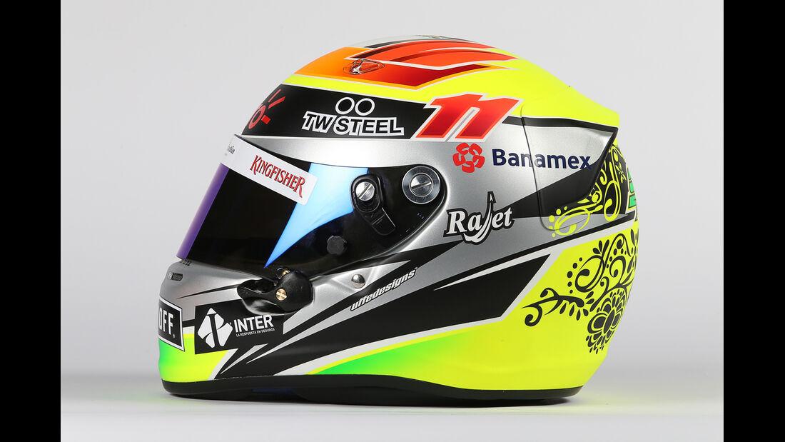 Sergio Perez - Helm  - Formel 1 - 2015
