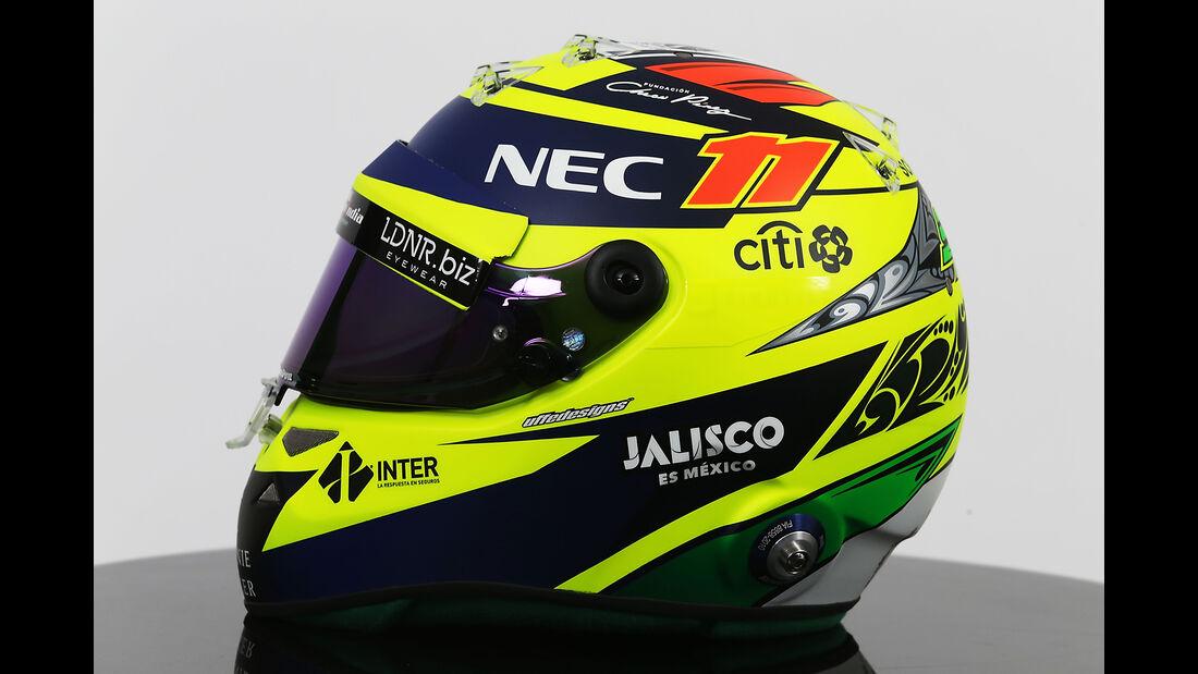 Sergio Perez - Helm - Formel 1 - 2017
