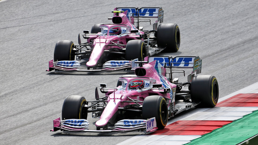 Sergio Perez - Lance Stroll - Racing Point - GP Steiermark 2020