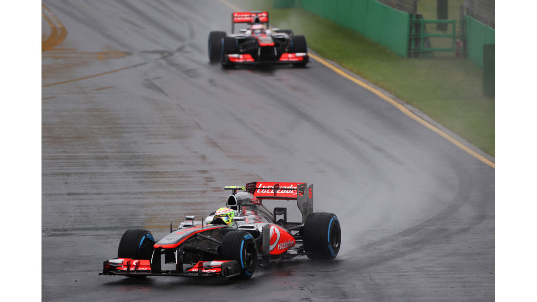 Sergio Perez - McLaren - Formel 1 - GP Australien - 16. März 2013