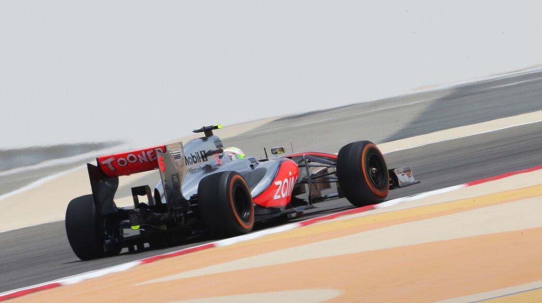 Sergio Perez - McLaren - Formel 1 - GP Bahrain - 19. April 2013