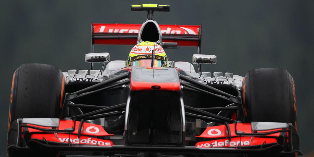Sergio Perez - McLaren - Formel 1 - GP Belgien - Spa Francorchamps - 23. August 2013