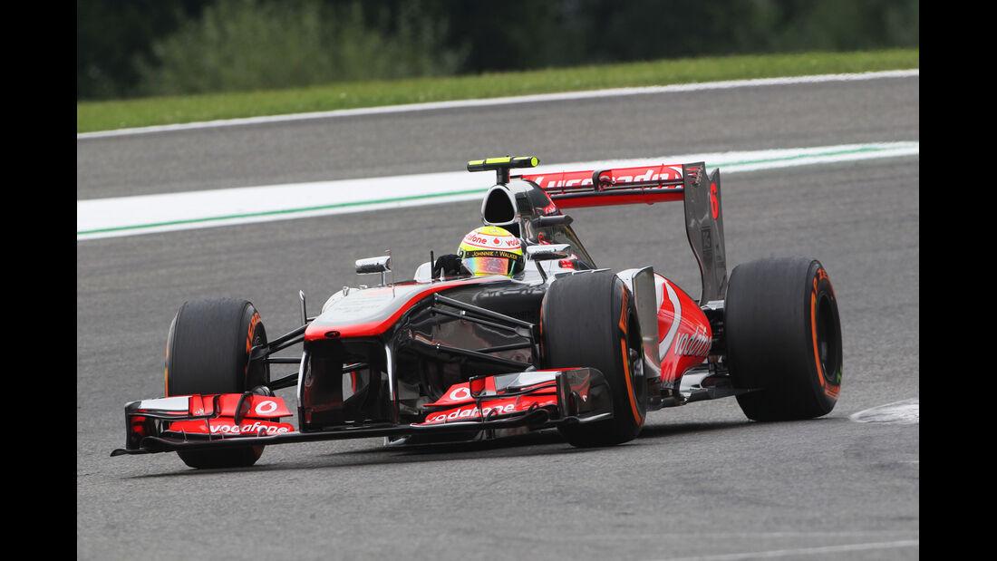 Sergio Perez - McLaren - Formel 1 - GP Belgien - Spa-Francorchamps - 24. August