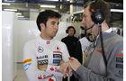 Sergio Perez - McLaren - Formel 1 - GP China - 13. April 2013